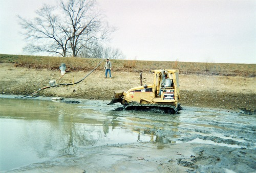 Pond Excavation and Pond Repair